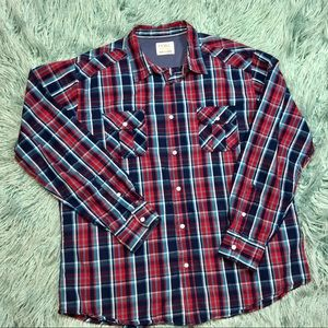 PD&C Long Sleeve Button-Up, Like New, Size XXL